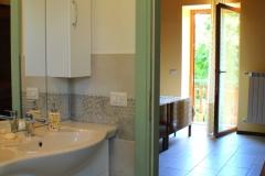 Camera Quercia - Bagno e balcone